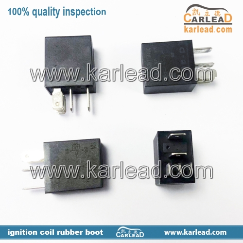 5M5T-14B192-BA, V23074-A1001-X77 Volvo Ford Multi-Use 5-Pin Black Relay 12V